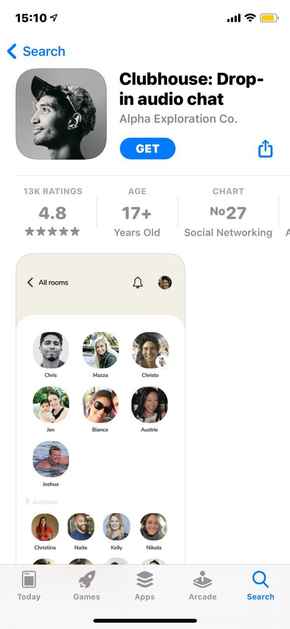 Clubhouse : l'application sociale arrive en mai sur Android .